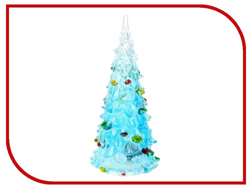 Новогодний сувенир Luazon Елочка радуга загадка Blue 1077305
