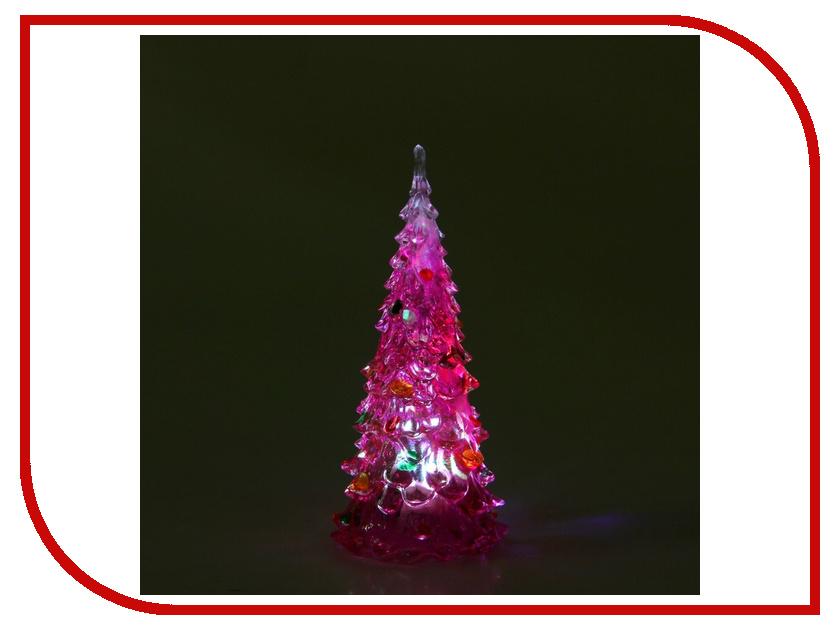 Новогодний сувенир Luazon Елочка радуга загадка Pink 1077307<br>