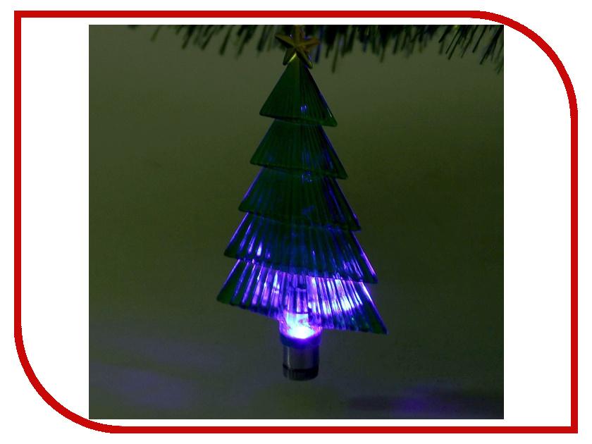Украшение Luazon Елочка зеленая RGB 1077314 украшение luazon ангел silver 1077322
