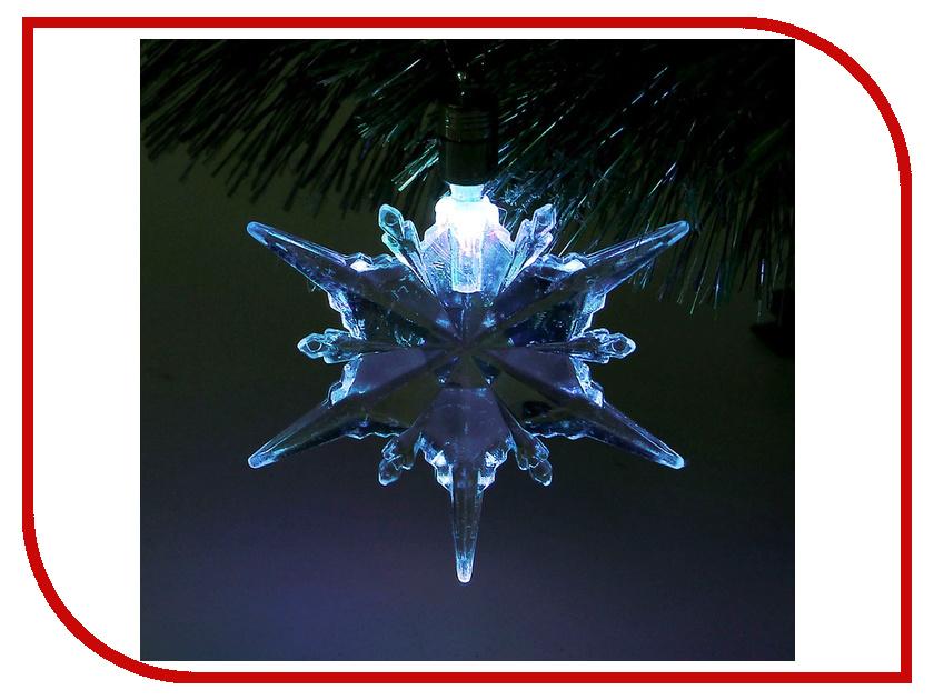 Украшение Luazon Снежинка талая RGB 1077316<br>