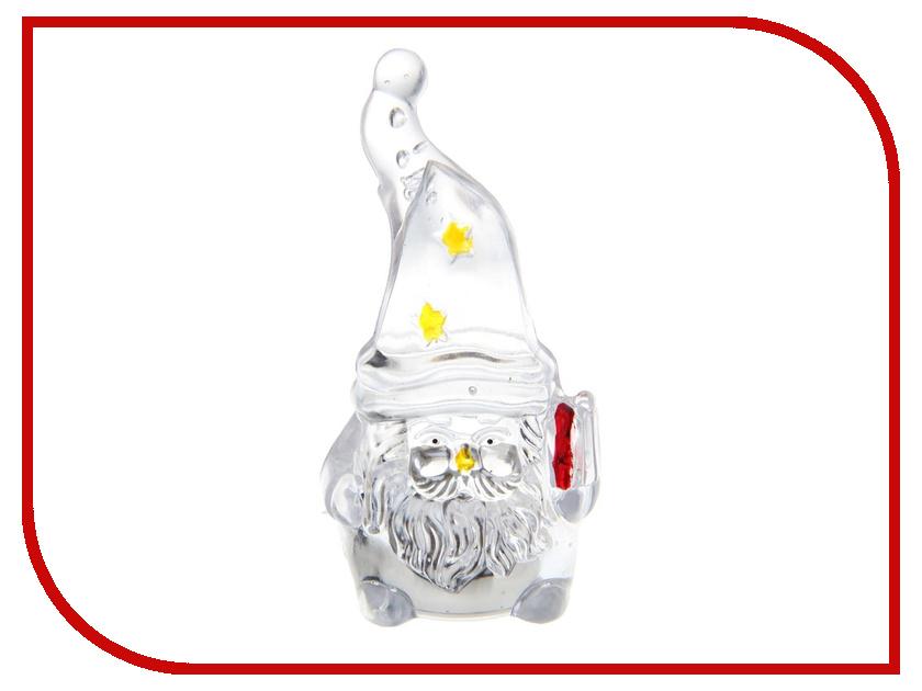 Новогодний сувенир Luazon Гномик Дед Мороз RGB 1077327 гирлянда luazon дождь 2m 6m multicolor 671678