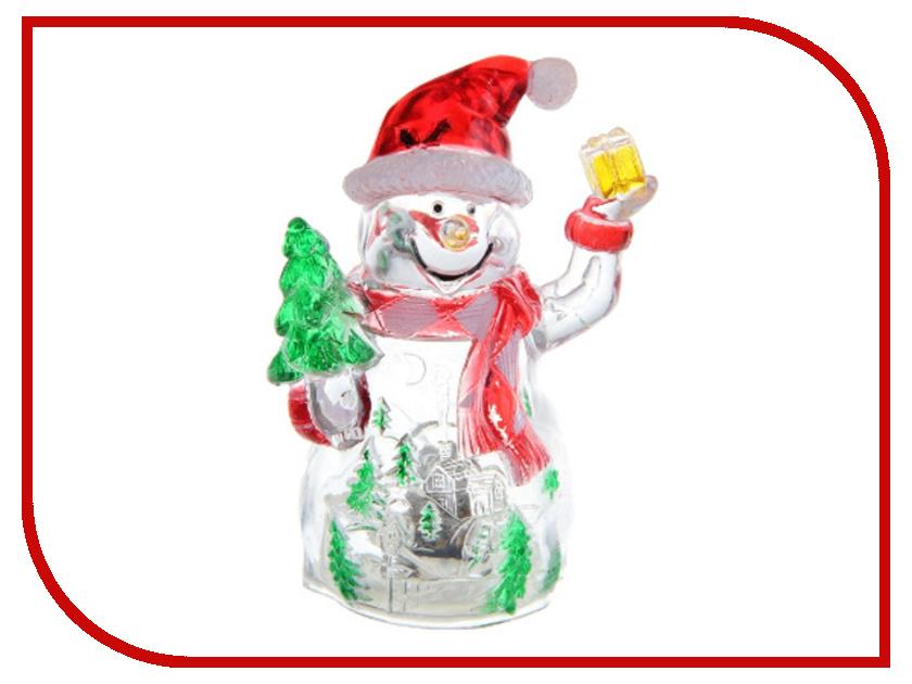 Новогодний сувенир Luazon Снеговик-весельчак RGB 1077333<br>