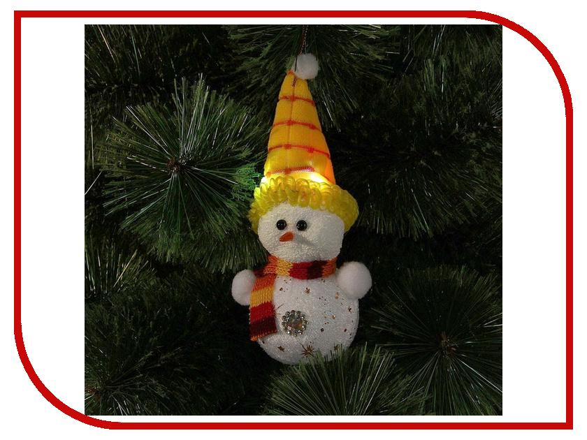 Украшение Luazon Снеговик в желтой шапочке RGB 1077488