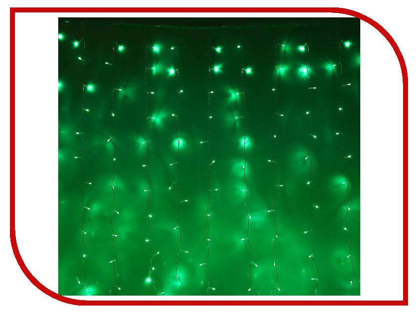 Гирлянда Luazon Занавес 2m-3m Green 1080474 гирлянда luazon занавес 2m 3m green 1080474
