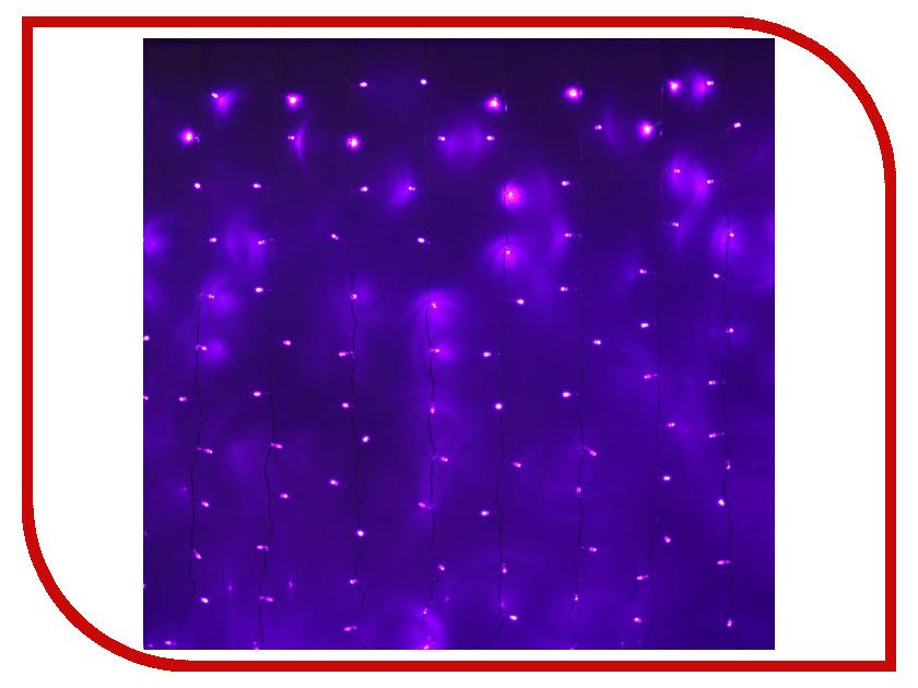 Гирлянда Luazon Занавес 2m-3m Violet 1080476