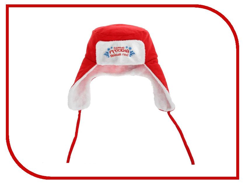 Новогодний сувенир Страна Карнавалия Карнавальная шапка-ушанка Самый русский Новый Год! 1116793