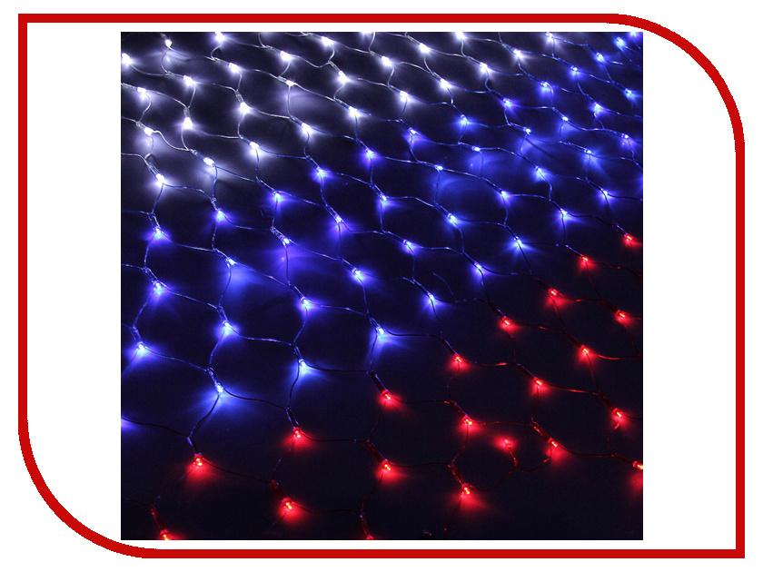 Гирлянда Luazon Флаг России 2.4m-1m 187228 гирлянда luazon дождь 2m 6m multicolor 671678
