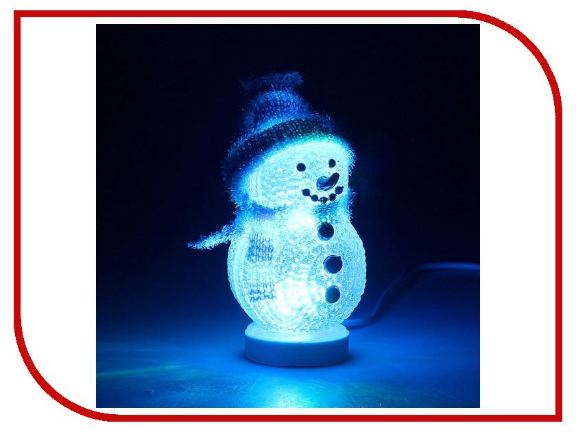 Новогодний сувенир Luazon Снеговичок в синем 186601 luazon aw 08a 867679