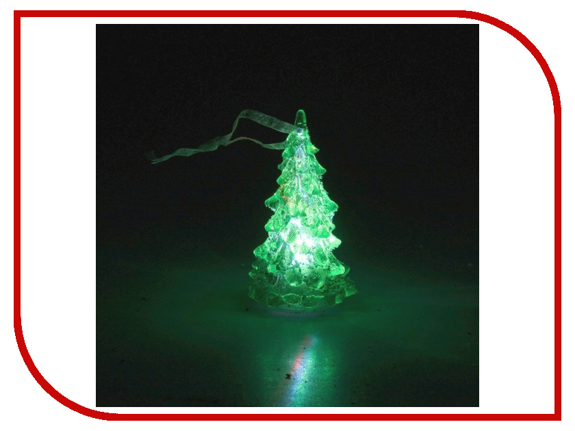 Новогодний сувенир Luazon Снежная елочка Green 602880<br>