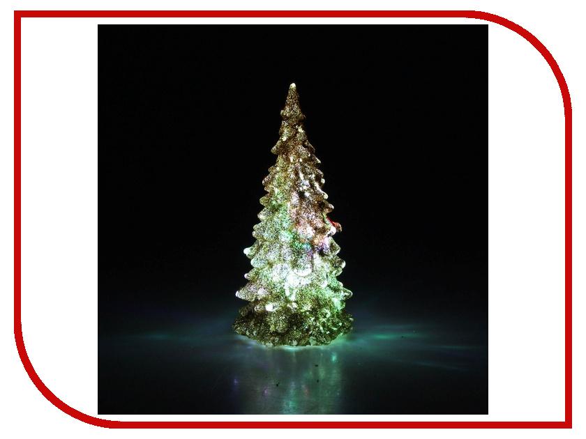Новогодний сувенир Luazon Мерцающая елочка Gold 602883<br>