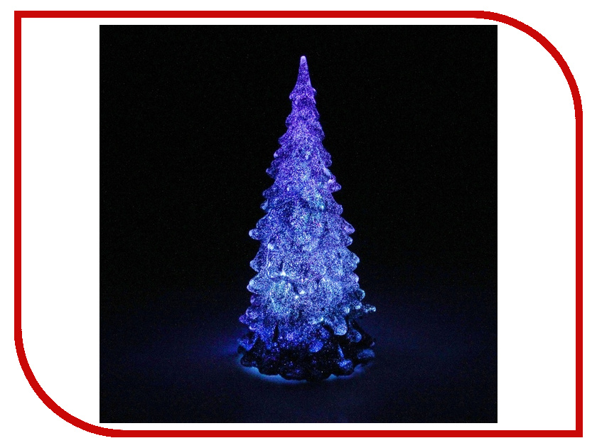 Новогодний сувенир Luazon Мерцающая елочка Blue 602887