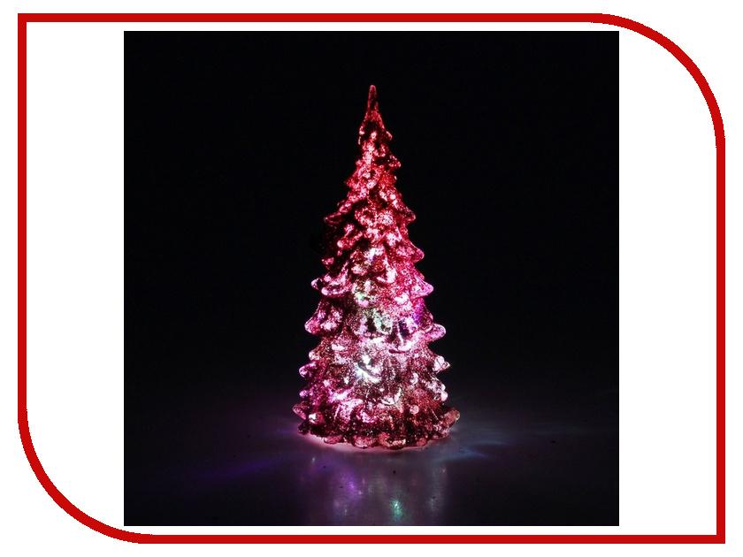 Новогодний сувенир Luazon Мерцающая елочка Pink 602888 гирлянда luazon дождь 2m 6m multicolor 671678