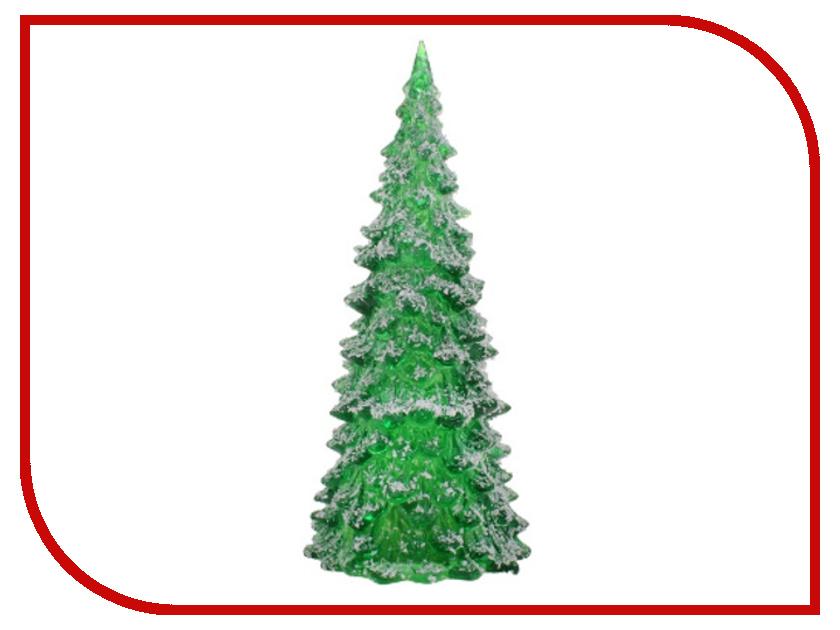 Новогодний сувенир Luazon Снежная елочка Green 602897 гирлянда luazon дождь 2m 6m multicolor 671678