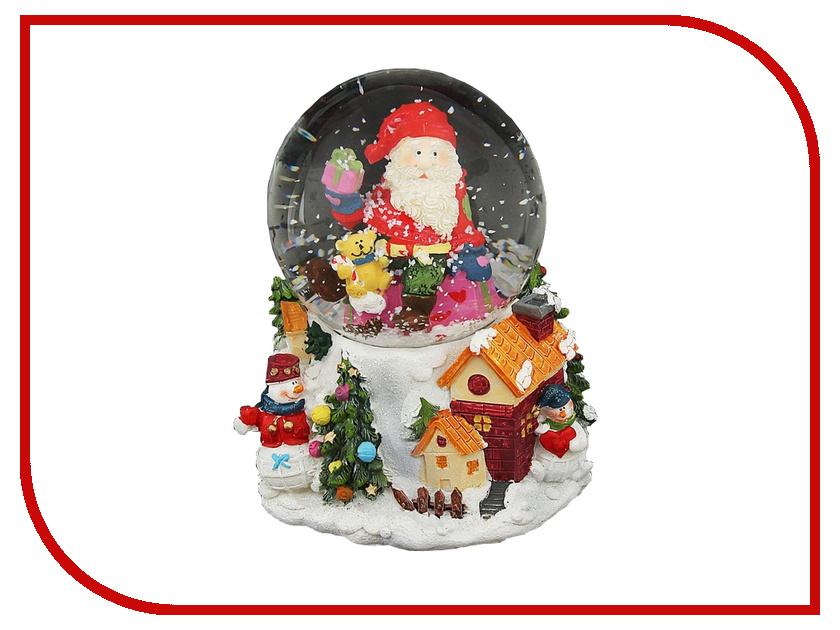 Снежный шар СИМА-ЛЕНД Дед Мороз на подарке 1058593