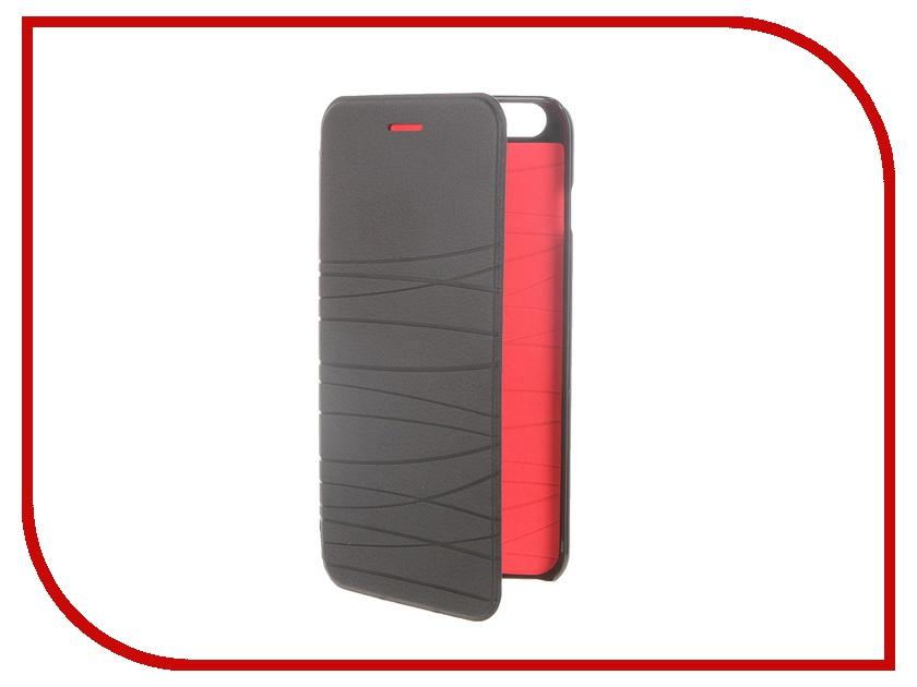 Аксессуар Чехол-книжка MOMAX Elite Case для iPhone 6 Plus FDAPIP6LBD Black<br>