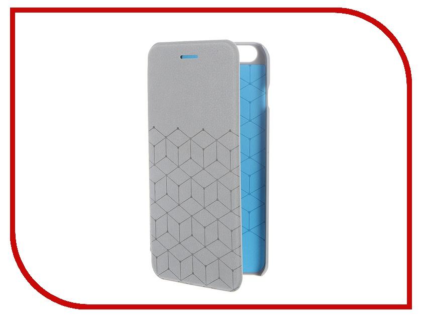 Аксессуар Чехол-книжка MOMAX Elite Case для iPhone 6 Plus FDAPIP6LBD Grey<br>