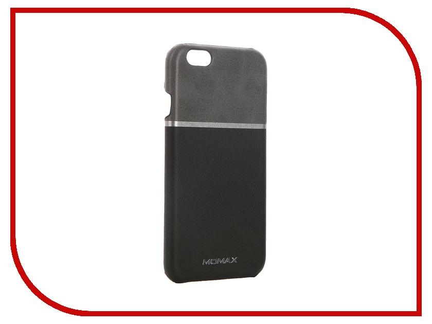 Аксессуар Чехол-накладка MOMAX Elite для iPhone 6 FTAPIP6BDD Black<br>