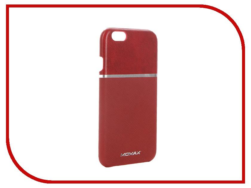 все цены на  Аксессуар Чехол-накладка MOMAX Elite для APPLE iPhone 6 FTAPIP6BDD Red  онлайн