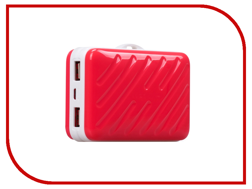 Аккумулятор MOMAX iPower Go Buddy 10000mAh IP40 Red<br>