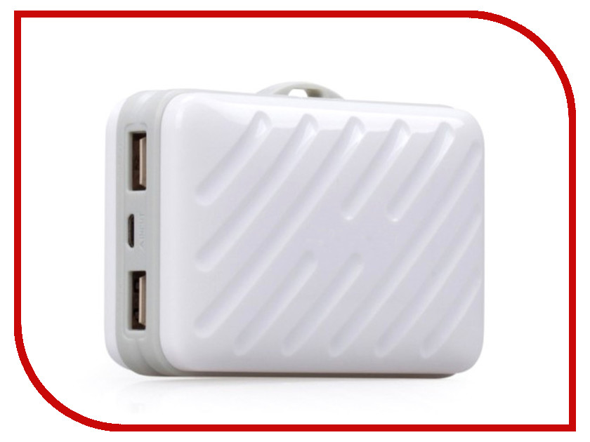 Аккумулятор MOMAX iPower Go Buddy 10000mAh IP40 White<br>