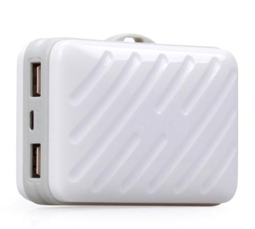 Аккумулятор MOMAX iPower Go Buddy 10000mAh IP40 White