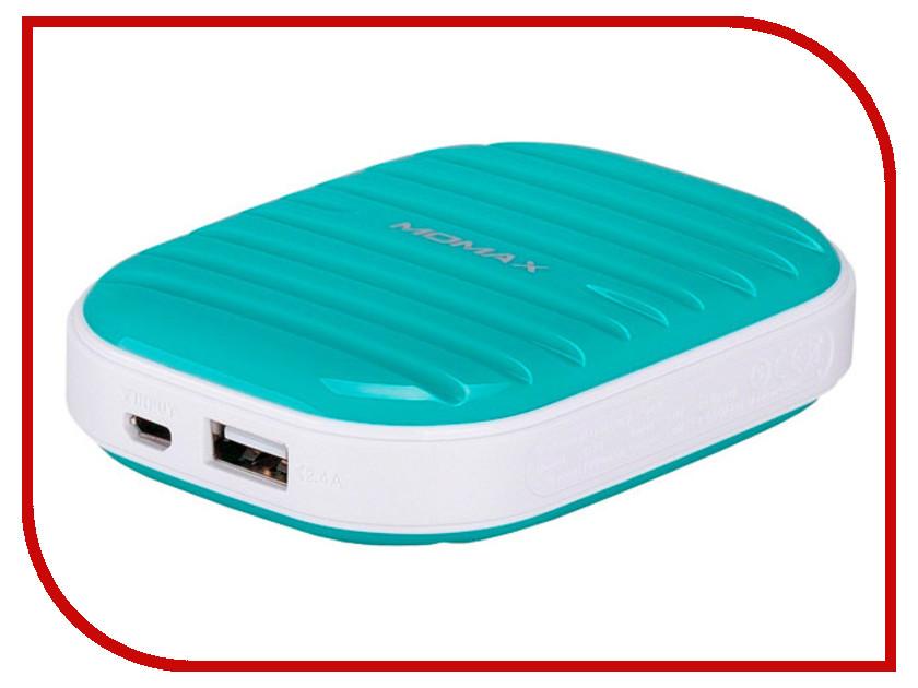 Аккумулятор MOMAX iPower Go mini 7800mAh IP35D Green<br>