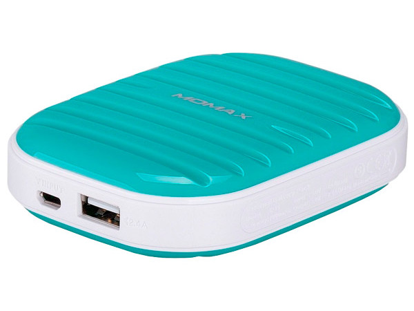 Аккумулятор MOMAX iPower Go mini 7800mAh IP35D Green