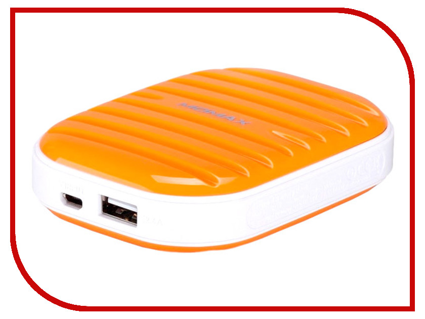 Аккумулятор MOMAX iPower Go mini 7800mAh IP35D Orange<br>