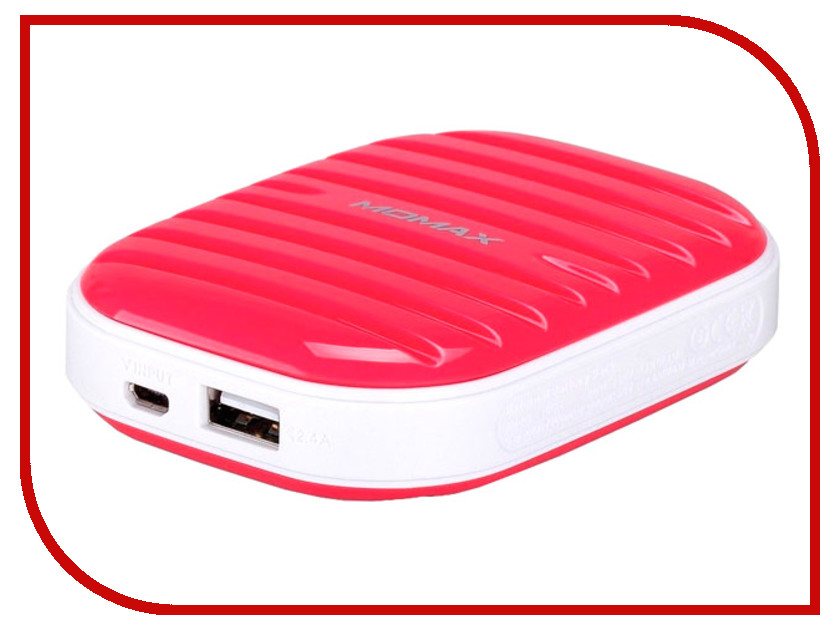 Аккумулятор MOMAX iPower Go mini 7800mAh IP35D Pink<br>