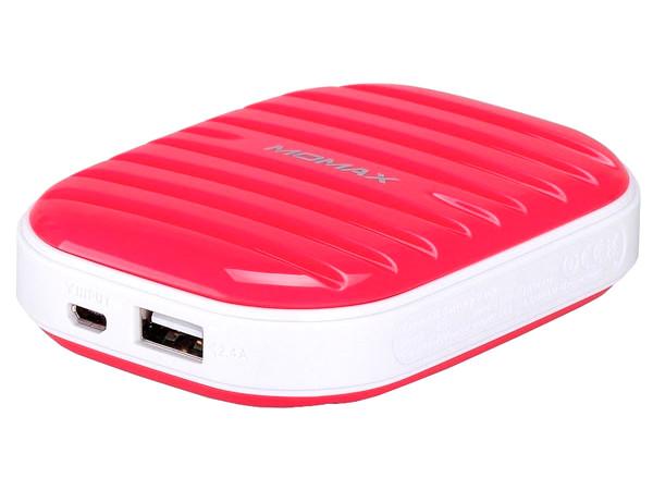 Аккумулятор MOMAX iPower Go mini 7800mAh IP35D Pink