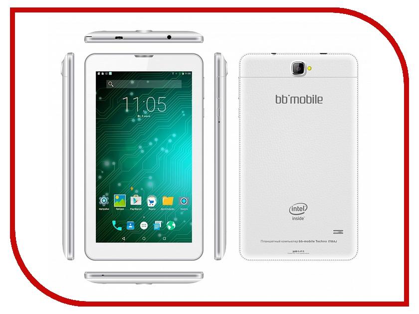 Планшет BB-mobile Techno MOZG 7.0 I700AJ White Intel Atom C3230-RK 1.2 GHz/1024Mb/8Gb/3G/Wi-Fi/Bluetooth/Cam/7.0/1024x600/Android