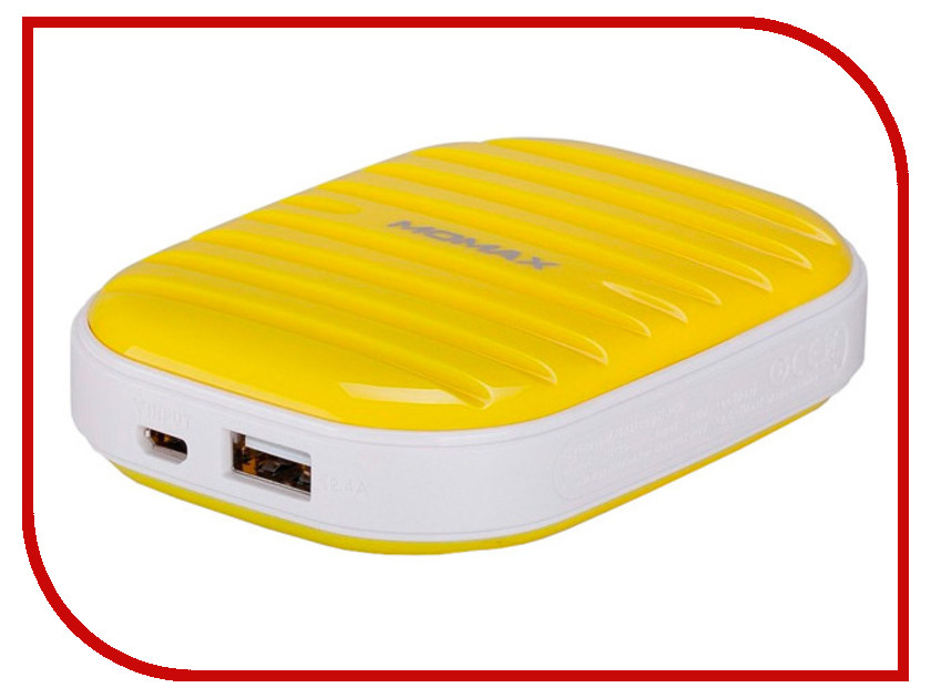 Аккумулятор MOMAX iPower Go mini 7800mAh IP35D Yellow stylish vr box momax