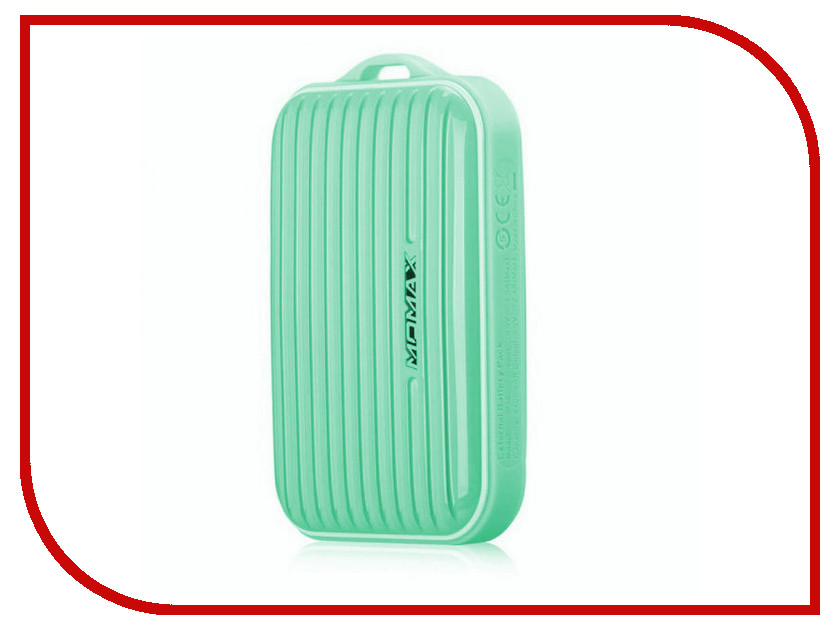 Аккумулятор MOMAX iPower Go mini 8400mAh IP36D Green<br>