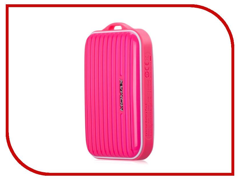 Аккумулятор MOMAX iPower Go mini 8400mAh IP36D Pink<br>