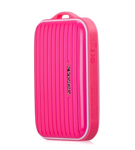 Аккумулятор MOMAX iPower Go mini 8400mAh IP36D Pink