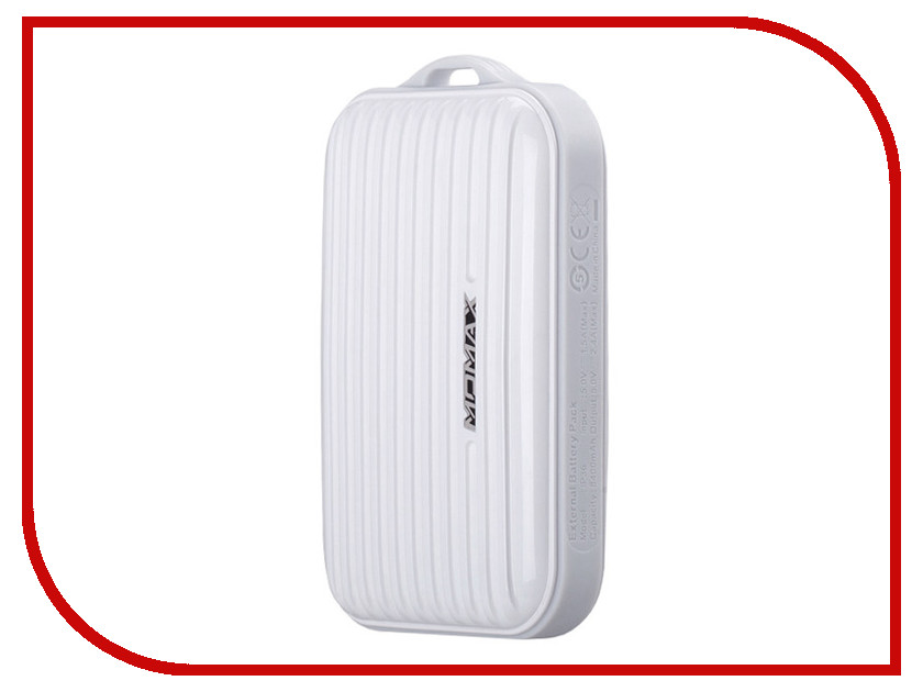 ����������� MOMAX iPower Go mini 8400mAh IP36D White<br>