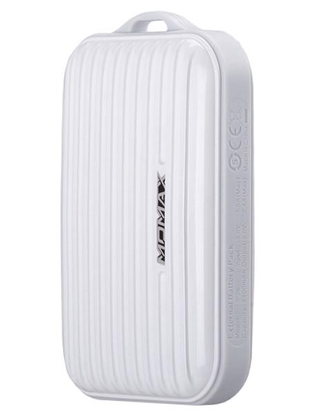 Аккумулятор MOMAX iPower Go mini 8400mAh IP36D White