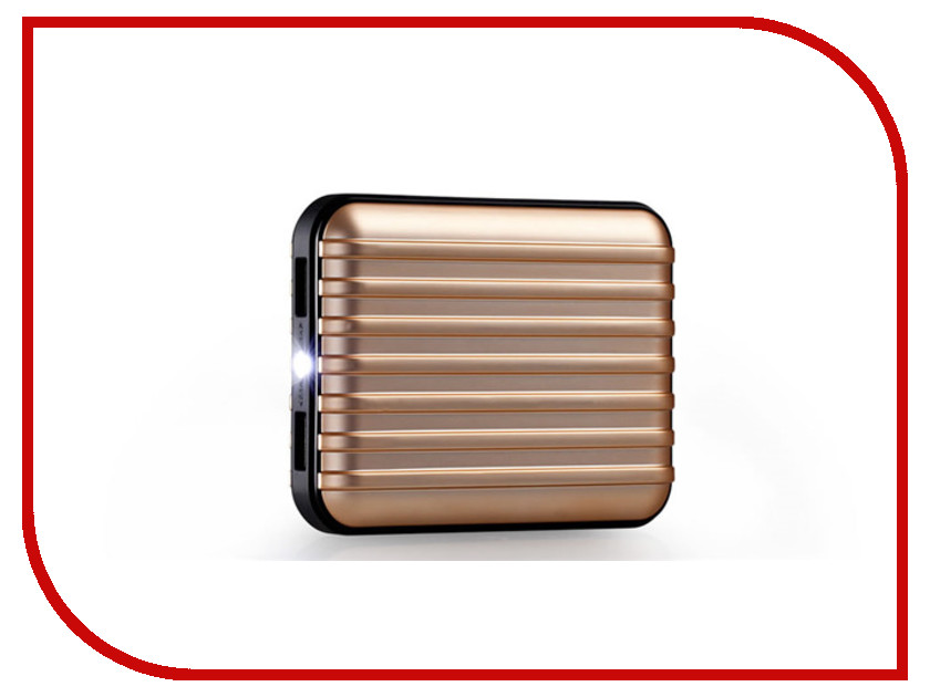 Аккумулятор MOMAX iPower GO+ 11200mAh IP24AL Golden<br>
