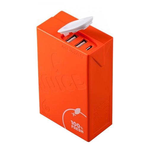 Аккумулятор MOMAX iPower Juice+ 10000mAh IP39 Orange