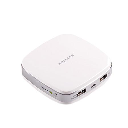Аккумулятор MOMAX iPower m2 6400mAh IP32B White<br>
