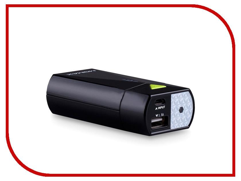 Аккумулятор MOMAX iPower S2c 5200mAh IP27CW Black<br>