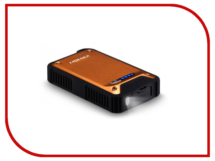 Аккумулятор MOMAX iPower Tough 2 9000mAh IP290 Orange<br>