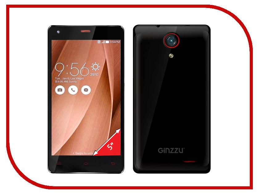 Сотовый телефон Ginzzu S5020 Black<br>