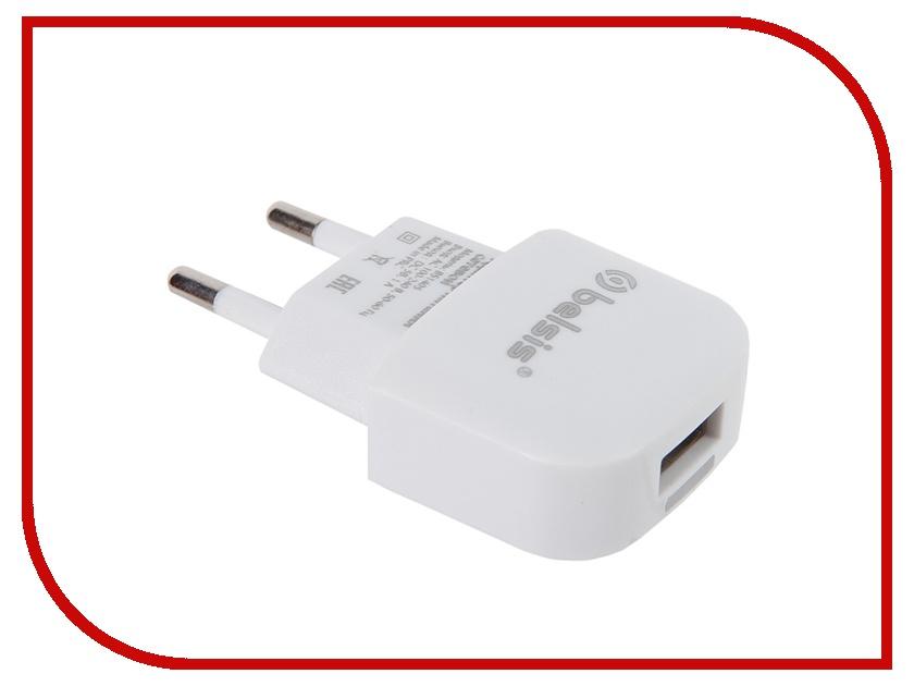 Зарядное устройство Belsis USB 1000 mA White BS1405