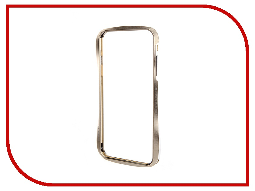 Аксессуар Чехол-бампер DRACO 6 Plus для iPhone 6 Plus Champagne Gold DR6P0A1-GDL<br>