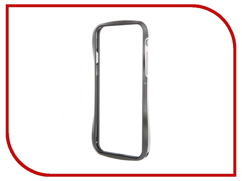 Аксессуар Чехол-бампер DRACO 6 для iPhone 6 Graphite Gray DR60A1-GAL<br>