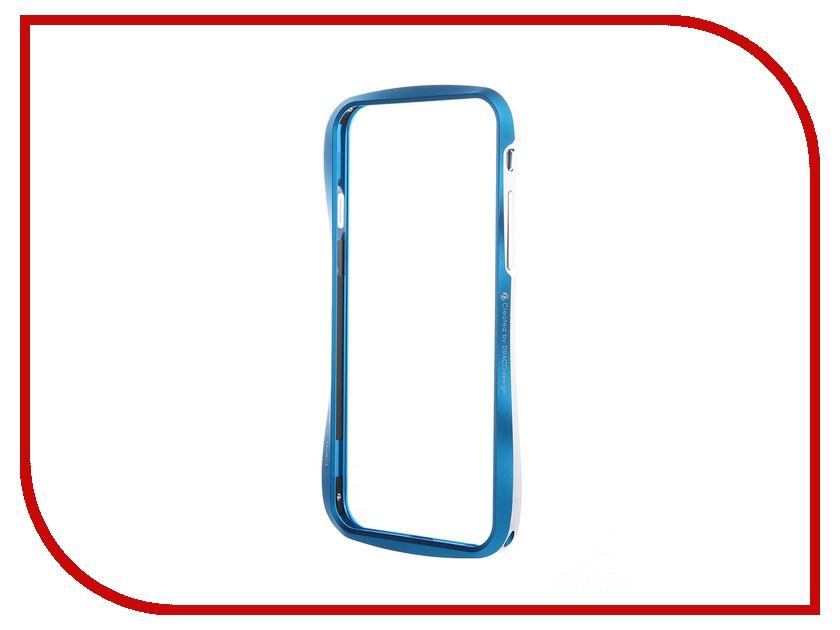 Аксессуар Чехол-бампер DRACO 6 для iPhone 6 Electic Blue DR60A1-EBL<br>