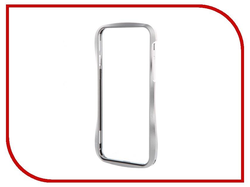 Аксессуар Чехол-бампер DRACO 6 для iPhone 6 Astro Silver DR60A1-SVL<br>