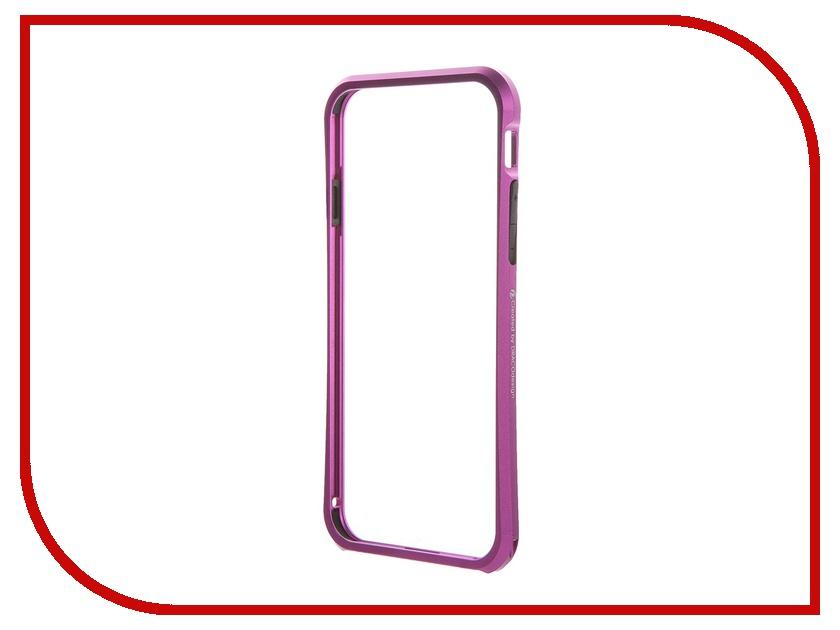Аксессуар Чехол-бампер DRACO Tigris 6 для iPhone 6 Galactic Purple TI60A1-PUL