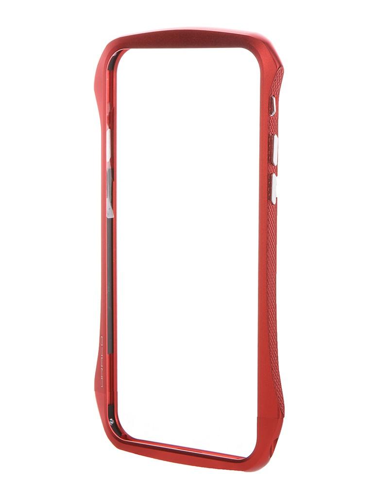 Аксессуар Чехол-бампер DRACO Ventare 6 для iPhone 6 Flare Red DR60VEA1-RD<br>